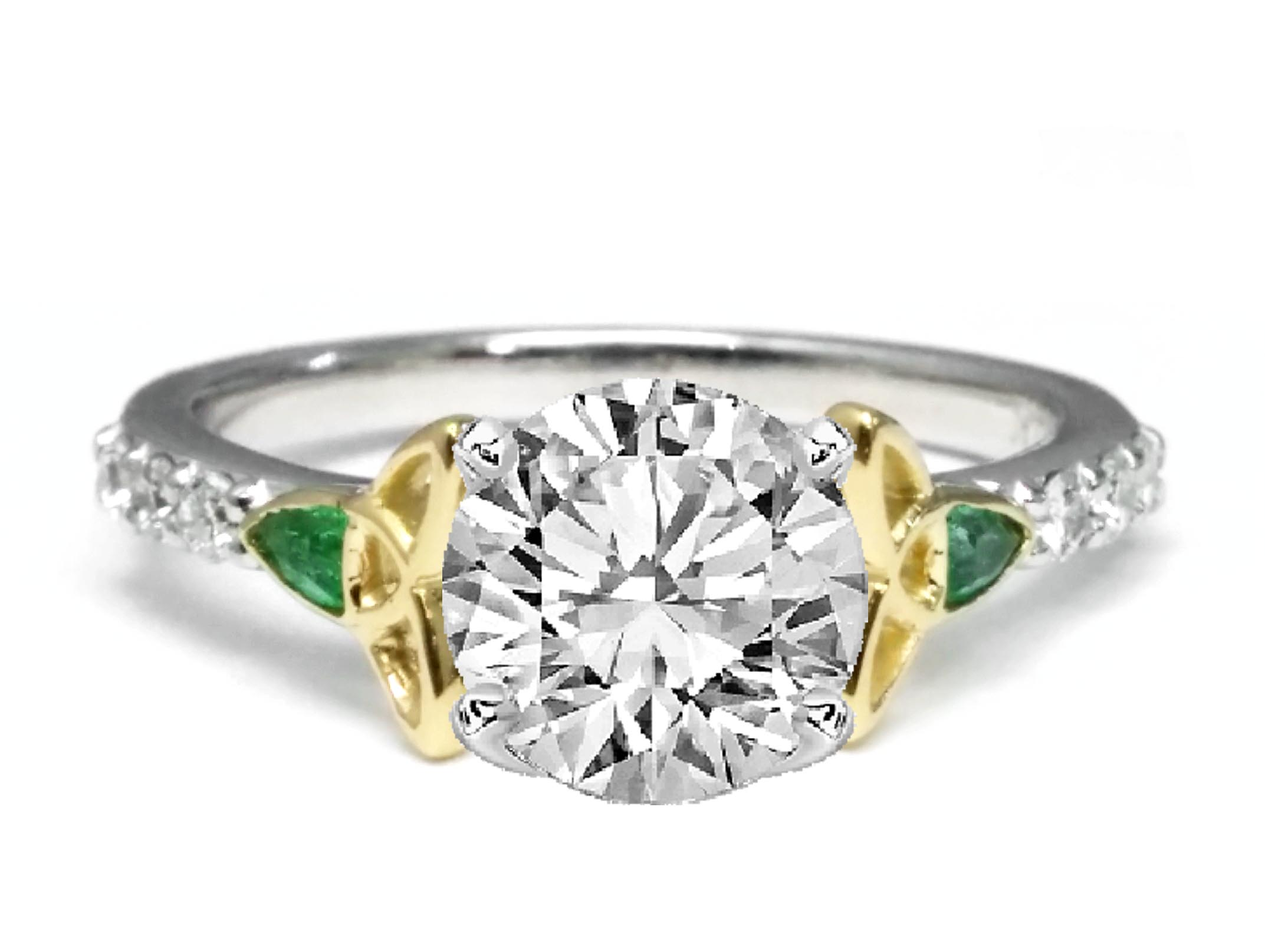 Beautiful Jessica Simpson Wedding Ring Set Replica Wedding