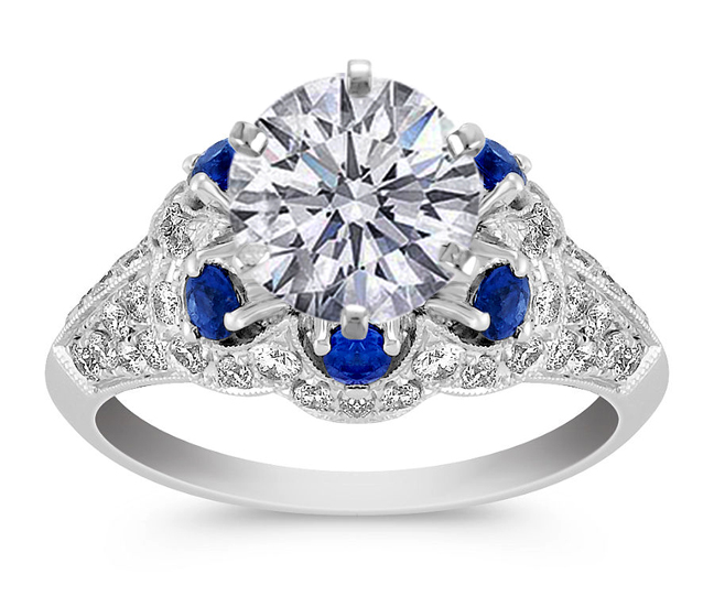 sapphire engagement rings from mdc diamonds nyc